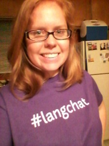 oh! in my #langchat tee