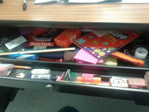 My desk drawer